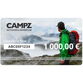 CAMPZ Chèques Cadeaux, 1000 €